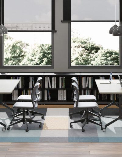 Imagem de ambientes com móveis Metadil.