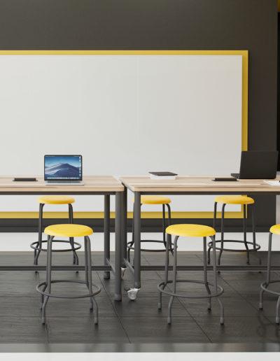 Imagem de ambiente com móveis Metadil.